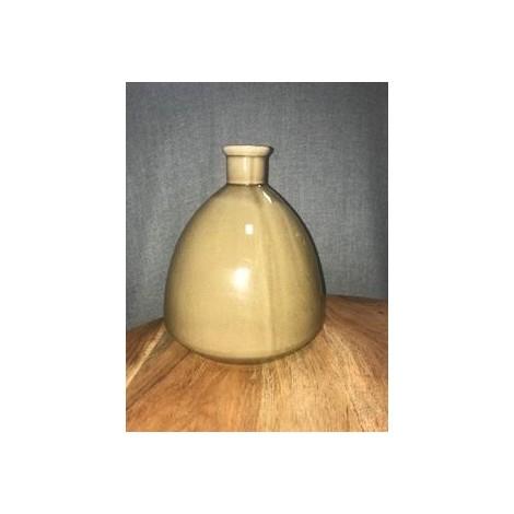 Vase céramique Taupe
