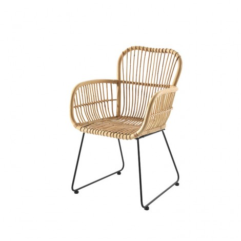 Fauteuil Rotin jawit