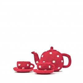 Tea Set - crochet- Anne-claire Petit