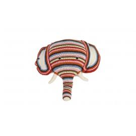 Tête éléphant - Crochet Anne-Claire Petit