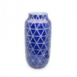 Vase céramic bleu