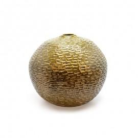 Vase céramic vert