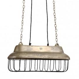 Lampe champ suspendu alu