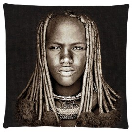 Coussin Himba Girl