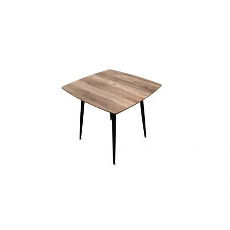 TABLE CARRE EN BOIS BLACKUS