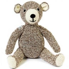 Peluche crochet TEDDY - Anne-Claire Petit