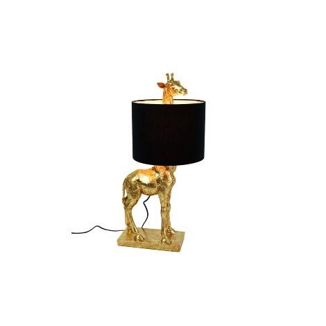 LAMPE GIRAFFE GOLD