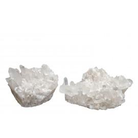 cristaux de celestine blanche