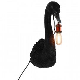 LAMPE MURALE PETRA CYGNE NOIR