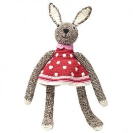 Peluche crochet Lapine - Anne-Claire Petit
