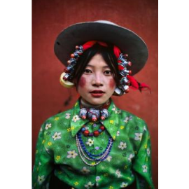 Tenture murale Tibetan Girl FS HOME