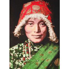 Tenture murale Tibetan Woman FS HOME