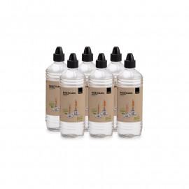 HOFATS SPIN Bioéthanol 1l Bouteille | Paquet de six