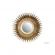 LES ASIATIDES - Miroir Pieuvre Bronze