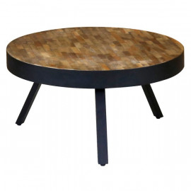 Table basse ronde Woody - PRO LIVING