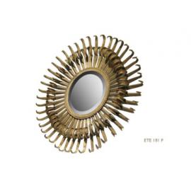 Miroir Pieuvre Bronze