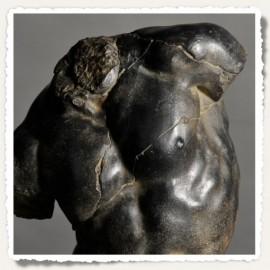 Torse d'Apollon noir