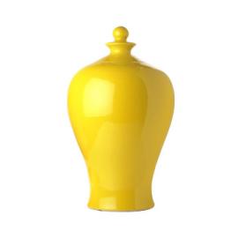 Vase Meiping jaune